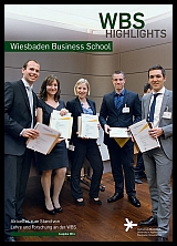 Titelblatt WBS Highlights 2014