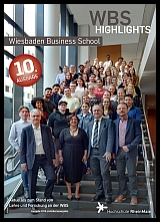 Titelblatt WBS Highlights 2018