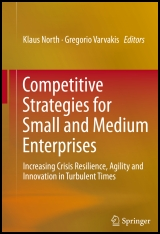 Buch-Cover North, Klaus (Hrsg.): Competitive Strategies for Small and Medium Enterprises