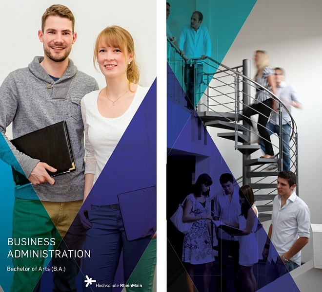 Flyer Studiengang Business Administration (B.A.)