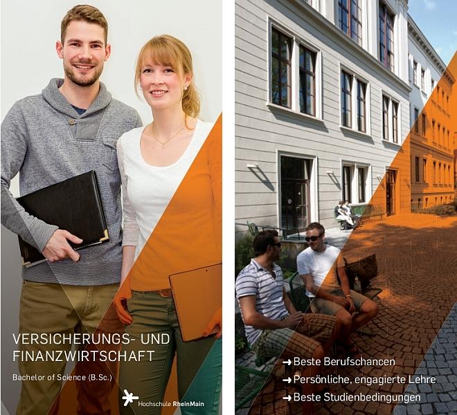 Flyer Studiengang Versicherungs- und Finanzwirtschaft (B.Sc.)