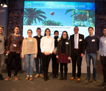 Die Studierenden der Studiengänge Medientechnik und Advanced Media Technology auf dem Kongress Change Management 2019