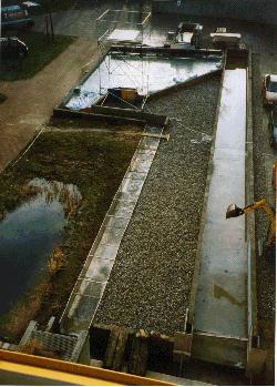 Außengelände des Wasserbaulabors