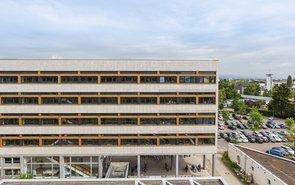 Saniertes Gebäude A1 Campus Rüsselsheim