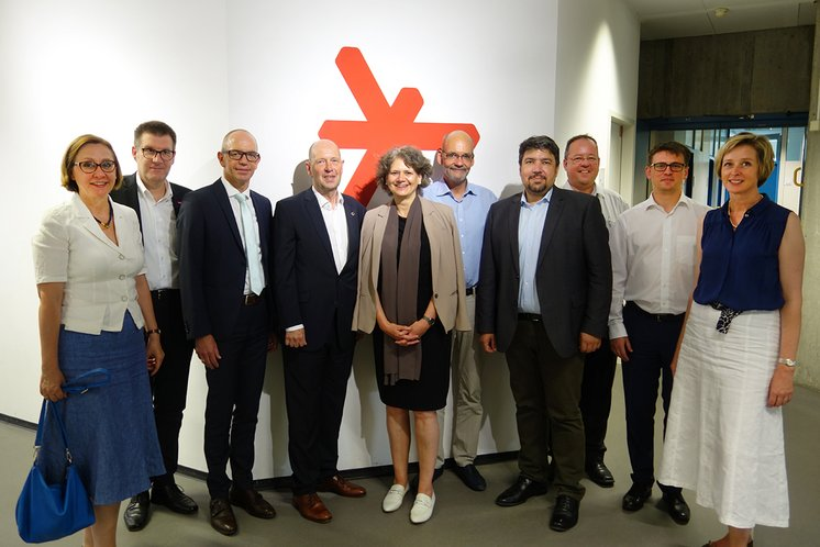 The current supervisory board © Hochschulkommunikation