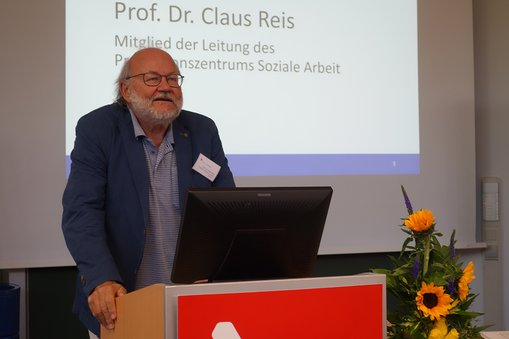 Prof. Dr. Claus Reis von der Frankfurt University of Applied Sciences