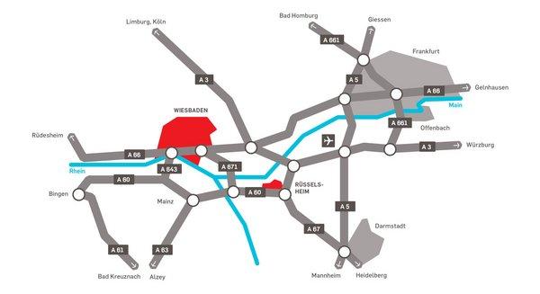 Locations and Maps RheinMain University
