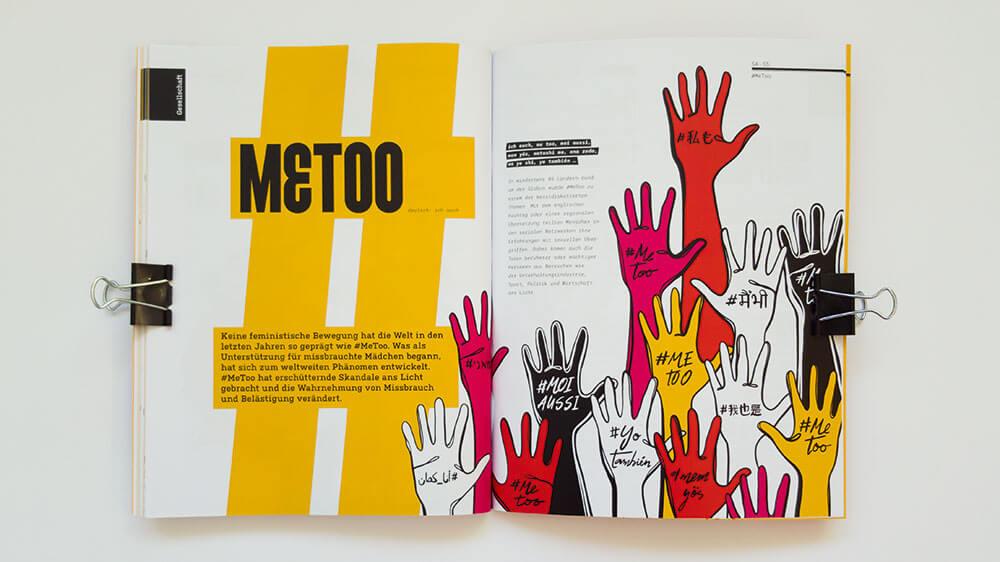 sexuelle belastigung, feministischer perspektive pamphlet